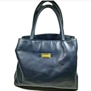 BUENO Blue leather Medium Handbag Purse